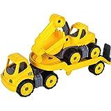 BIG 800055805 - Power-Worker Mini Transporter, Bagger, gelb