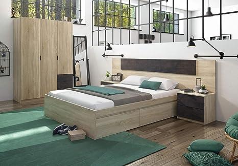 Miroytengo Pack Muebles Dormitorio Andy Armario Cabezal 2 ...
