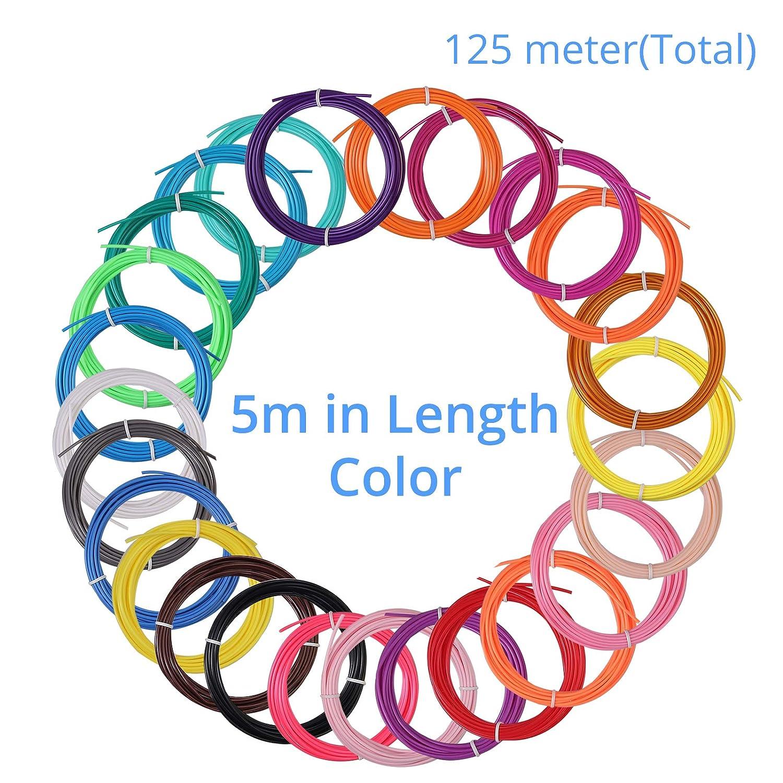 CAMWAY Filamento per Stampante 3d,Filamento PLA 1.75 mm,Spooler per Stampante 3D Precisione Dimensionale // 0,03 mm,Filament for 3D Printere
