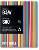 IMPOSSIBLE - NOUVELLE GENERATION 2.0 - 4164 - Edition limitée - Pellicule Noir et Blanc pour Polaroid type P600 - Cadres couleurs vives - 8 feuilles par boîte