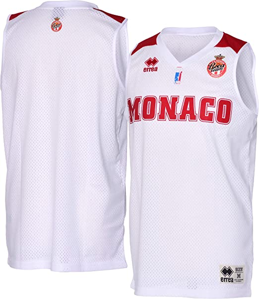 AS Monaco Basket Short Officiel Ext/érieur 2018-2019 Basketball