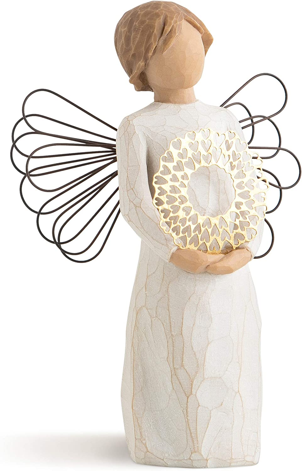 Willow Tree Sweetheart Angel, Sculpted Hand-Painted Figure