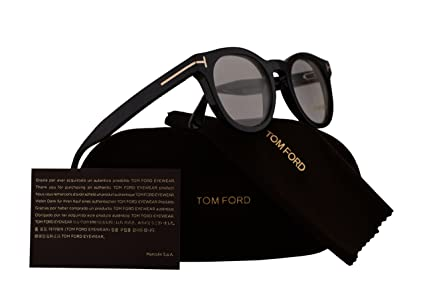 1667605018476 Image Unavailable. Image not available for. Color  Tom Ford FT5489  Eyeglasses 48-22-145 Shiny Black ...