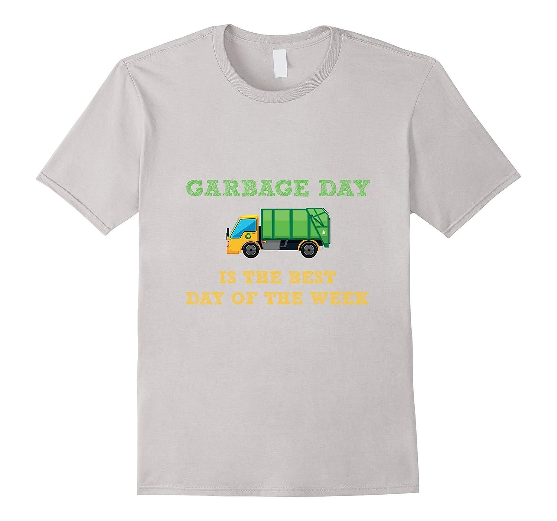 Garbage Day Trash Truck Kids T-Shirt-CD