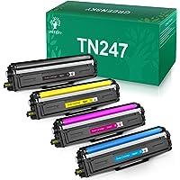 GREENSKY Cartucho de Tóner Compatible Repuesto para Brother TN247 TN243 para HL-L3210CW HL-L3230CDW HL-L3270CDW MFC…