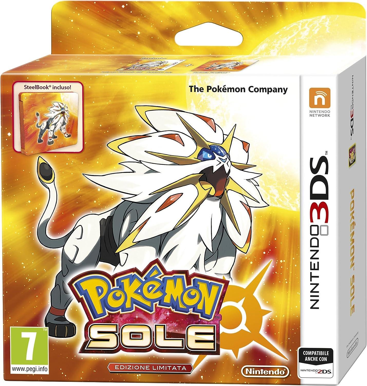 Nintendo Pokémon Sole, 3DS Básico Nintendo 3DS Italiano vídeo - Juego (3DS, Nintendo 3DS, RPG (juego de rol), K-A (niños hasta adultos)): Amazon.es: Videojuegos