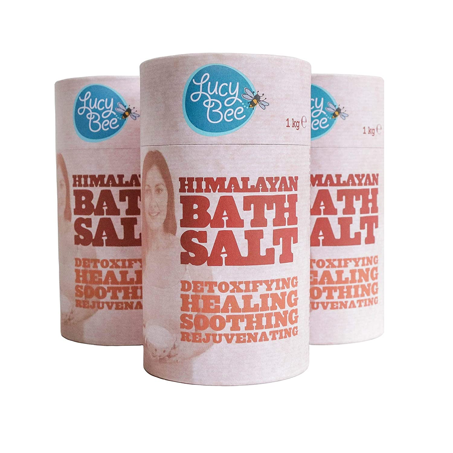 Lucy Bee Himalayan Salt (fine) 1Kg (Pack of 3)