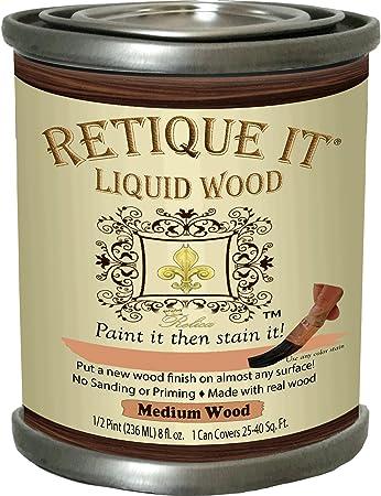 Retique It Liquid Wood - Pintura que luego se mancha - Pintura de ...