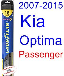 2007-2015 Kia Optima Wiper Blade (Passenger) (Goodyear Wiper Blades-Hybrid