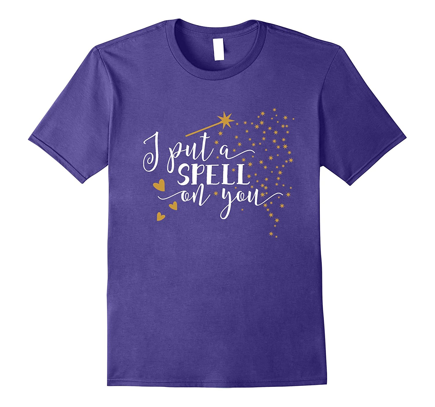 I Put A Spell On You Graphic Tee Shirt-FL