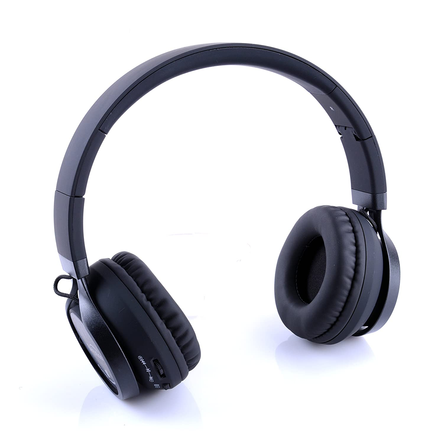 Beyution 525 Metal Bluetooth Headphones Hi-Fi Over-Ear Stereo Bluetooth Headphones Built in Mic-Phone Talk with Phone or Listen Music Clearly, Built Noise Cancellation Technology with Retail Package