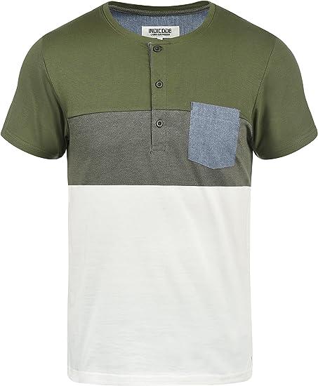 Indicode Albert Camiseta Básica De Manga Corta T-Shirt para Hombre ...