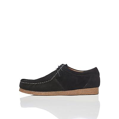 Brand - find. Men's Moccasin Black), US 12: Shoes