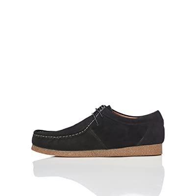 Amazon Brand - find. Men's Moccasin Black), US 12: Shoes
