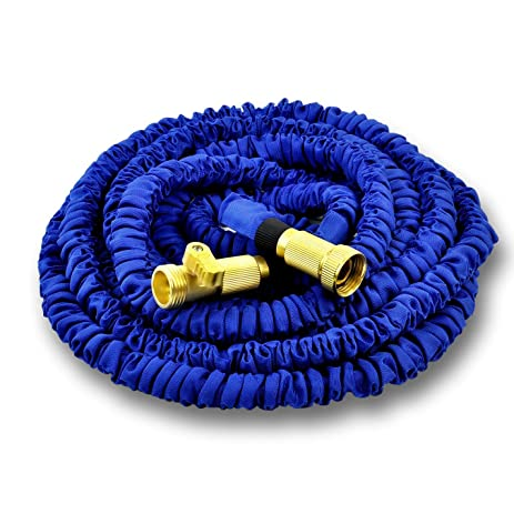25 ft garden hose. WORLD\u0027S STRONGEST Expandable Garden Hose With MADE IN USA Inner Tube Material, Expanding 25 Ft