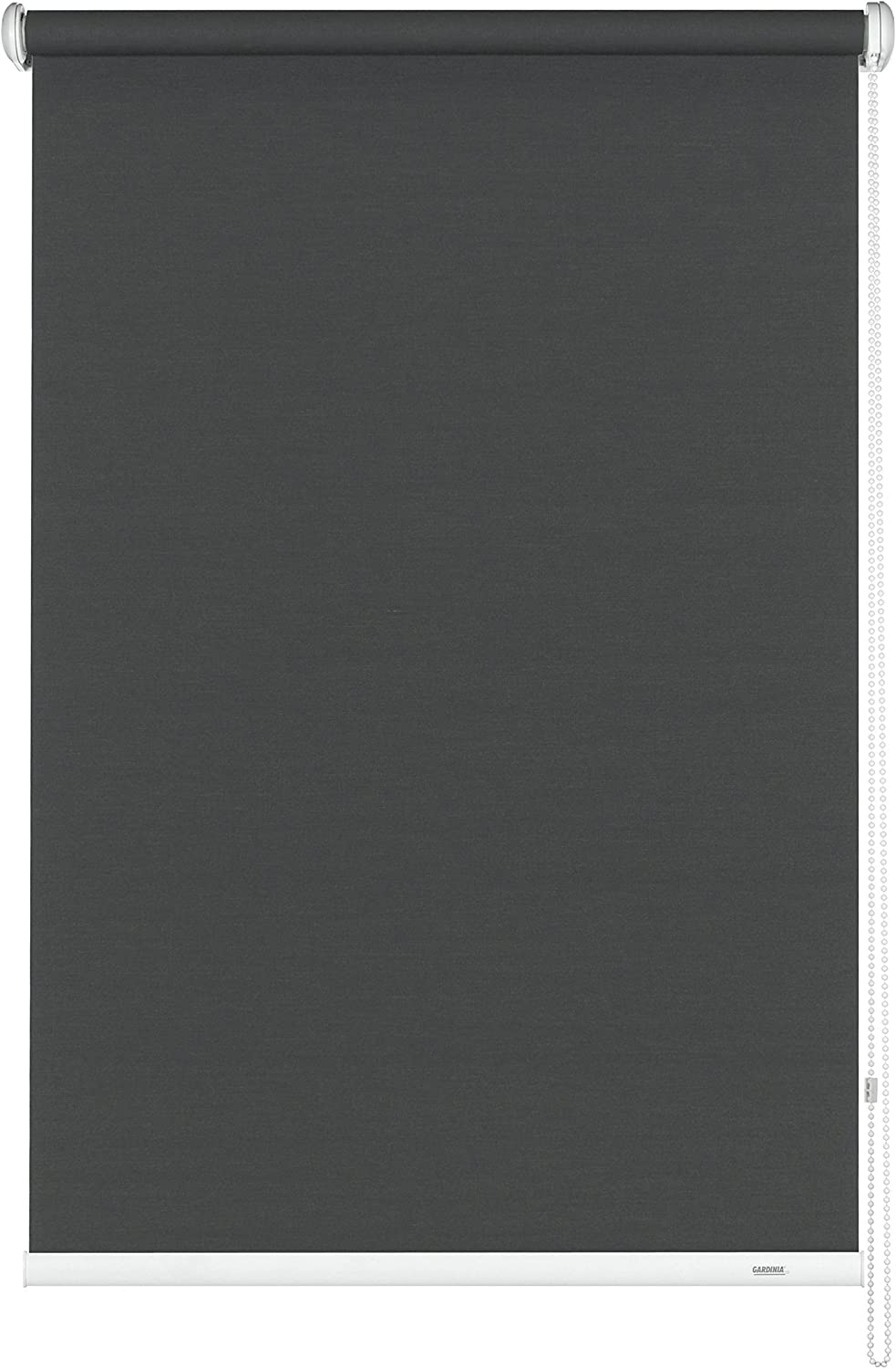 Gardinia 6820112180 - Persiana Enrollable y Estor, 100% poliéster de 112 x 180 cm, Color Gris
