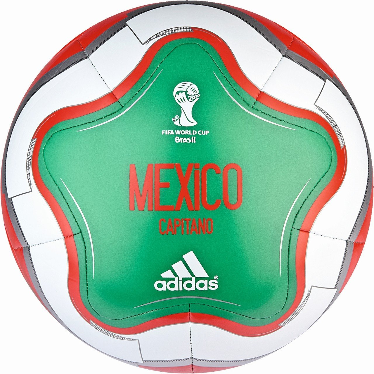 Balón Adidas México Mundial 2014: Amazon.es: Deportes y aire libre