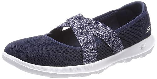 Buy Skechers® Blue Go Walk Lite Cutsey Navy Cross Band Mary