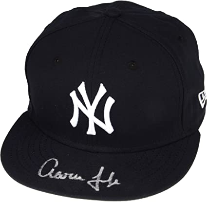 quality design adb15 c2fbf Aaron Judge New York Yankees Autographed New Era Cap - Fanatics Authentic  Certified - Autographed Hats at Amazon s Sports Collectibles Store