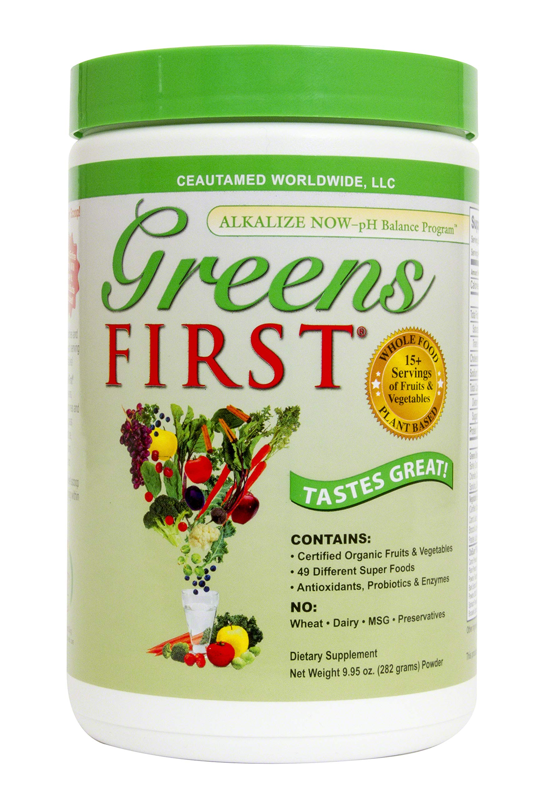 Greens First Nutrient Rich-Antioxidant SuperFood, 9.95 Ounces by Greens First