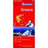 Greece NATIONAL Map (Michelin National Maps)