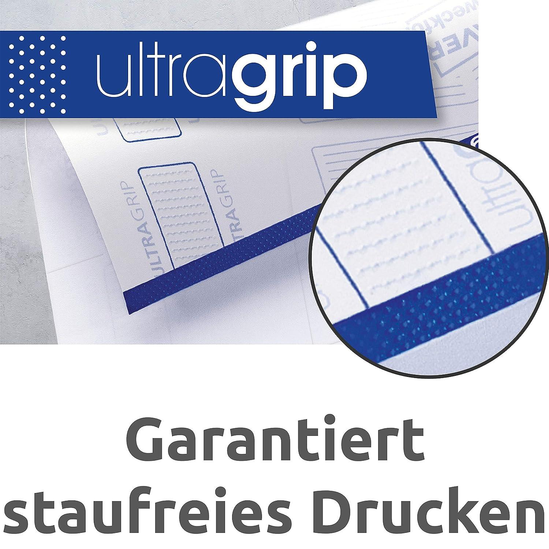 wei/ß A4, 800 Plus 80 Universal-Etiketten extra, 105 x 148 mm, 220 Blatt AVERY Zweckform 3483-200 Etiketten