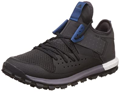 adidas Men's Response TR Trail Running Shoes, Black (Core Black/Utility  Black/