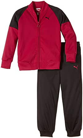 PUMA Trainingsanzug Suit, Closed - Chándal para niña, Color Rosa ...