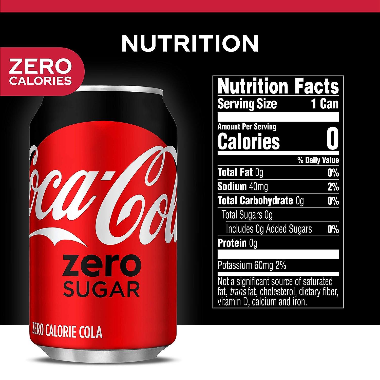 Amazon.com: Coke Zero Sugar Diet Soda Soft Drink, 12 fl oz, 12 Pack: Prime  Pantry
