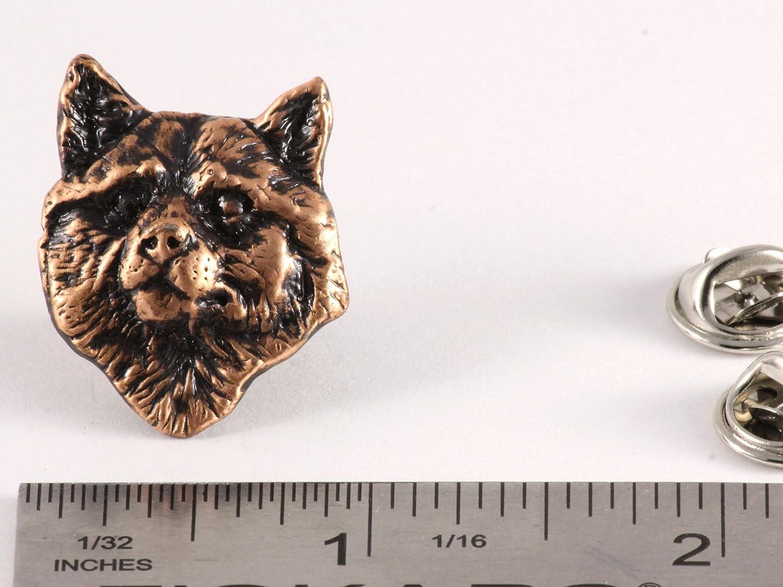 Shiba Inu Dog Pewter Lapel Pin Brooch Jewelry D166