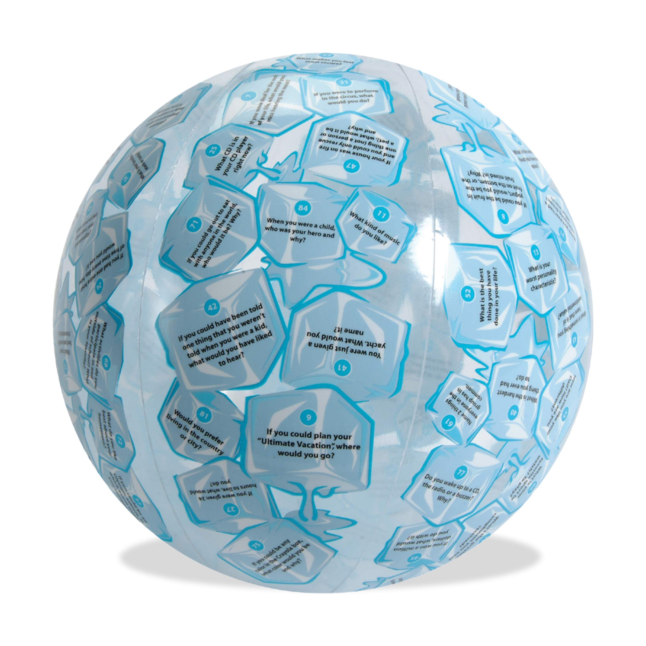 American Educational Vinyl Clever Catch Ice Breaker Intermediate Ball, 24'' Diameter by American Educational Products