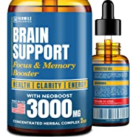 Brain Supplement for Memory, Focus, Energy & Clarity - Natural Nootropic with Ginkgo...