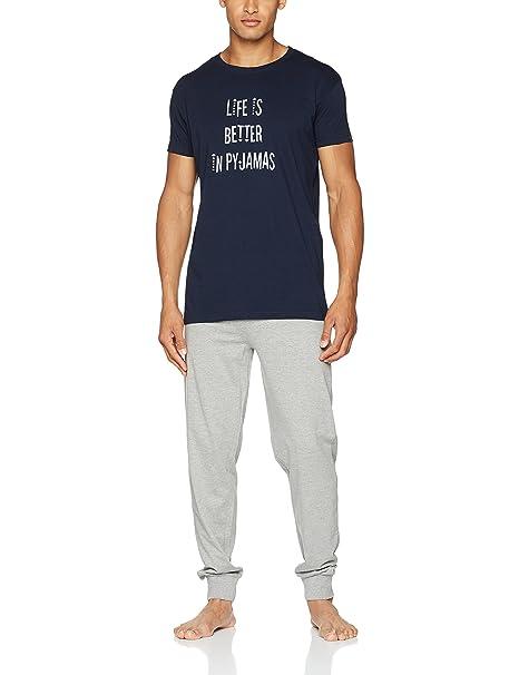 Arthur Life, Conjuntos de Pijama para Hombre: Amazon.es: Ropa y accesorios