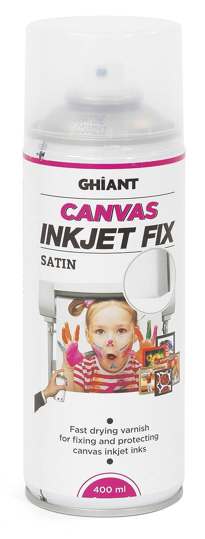 Ghiant 400 ml Canvas Ink Jet Fix Can, Satin/Transparent 66070502