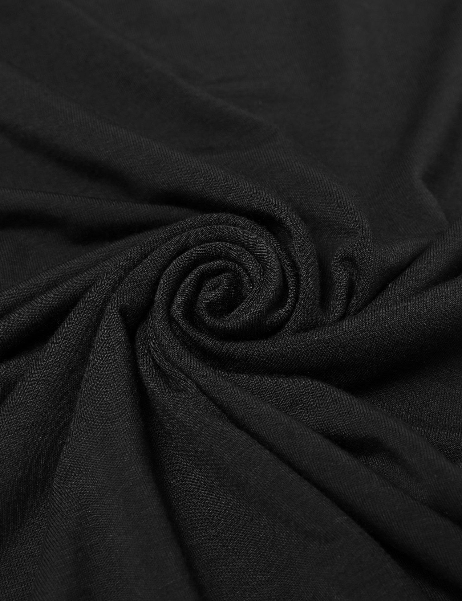Ekouaer Women Thermal Underwear Set Solid V-Neck Long Sleeve Top and Long Pants Bottom Sleepwear by Ekouaer (Image #8)