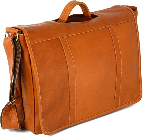 Hammer Anvil Andes Colombian Vacquetta Leather Messenger Bag Tan