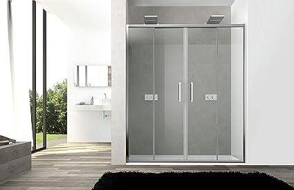 Puerta de ducha gotas modelo Star Cristal Templado de 6 mm Doble ...