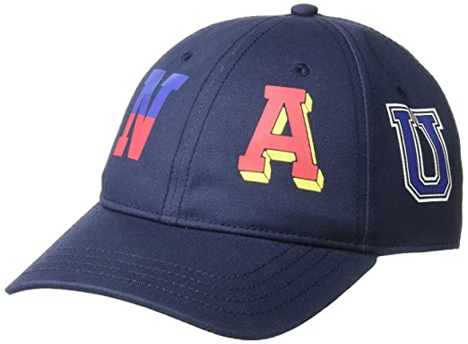 44b82294573c63 Amazon.com: Nautica Men's Tri-Color Signal Flag Cap Hat, Navy One ...