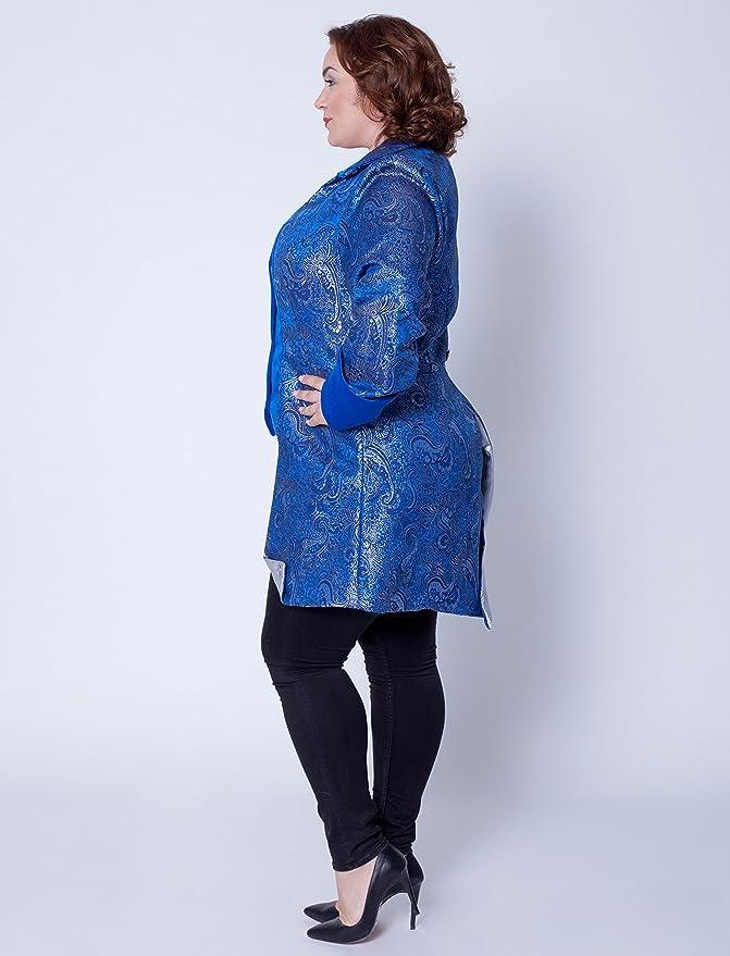 Deiters Mantel Marquise Damen blau: : Spielzeug