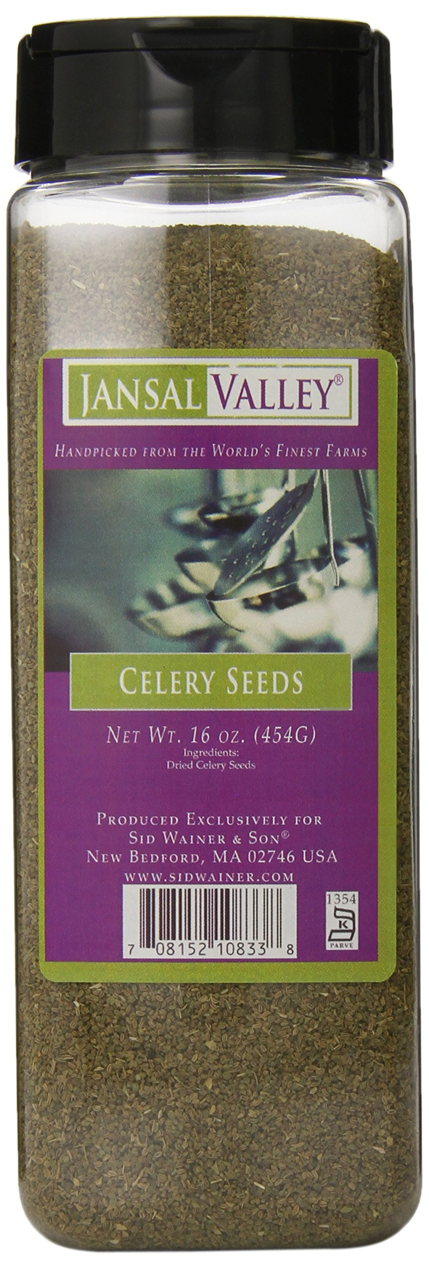 Jansal Valley Celery Seeds, 16 Ounce