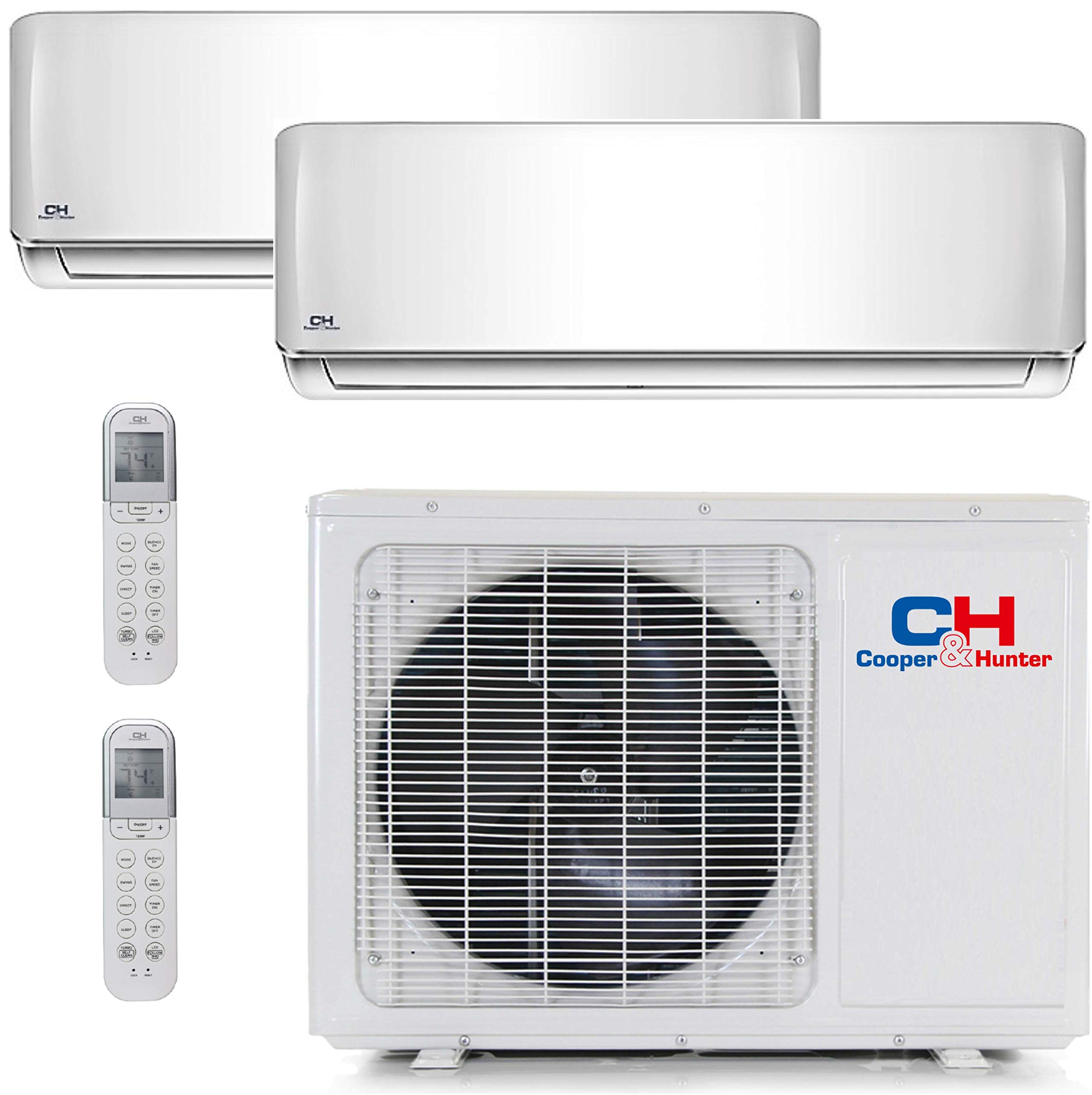 Cooper And Hunter Dual 2 Zone Mini Split Ductless Air