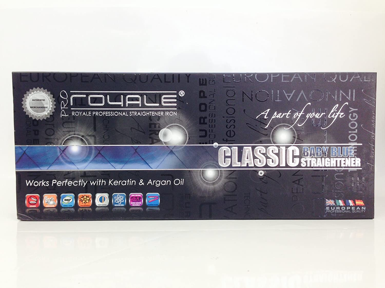Royale Professional Ceramic Classic Straightening Iron
