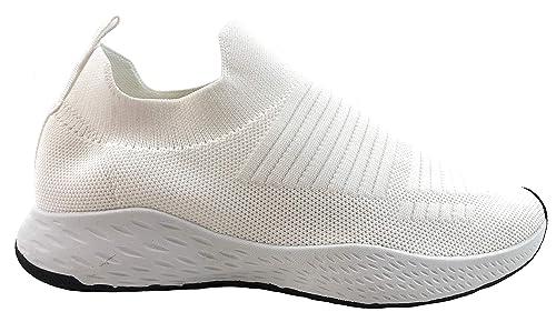 Zapatillas Deportivas Hombre Knit sin Cordones Super Adaptable: Amazon.es: Zapatos y complementos