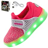 Amazon Price History for:Shinmax Light Up Shoes, LED Sneakers Sport Shoes Breathable 7 Colors Light Shoes Rechargable Kid Shoes LED Shoes Kids