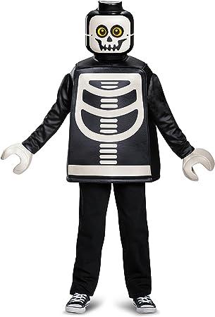 LEGO Disfraz clásico de esqueleto (tamaño pequeño, para niños de 4 ...