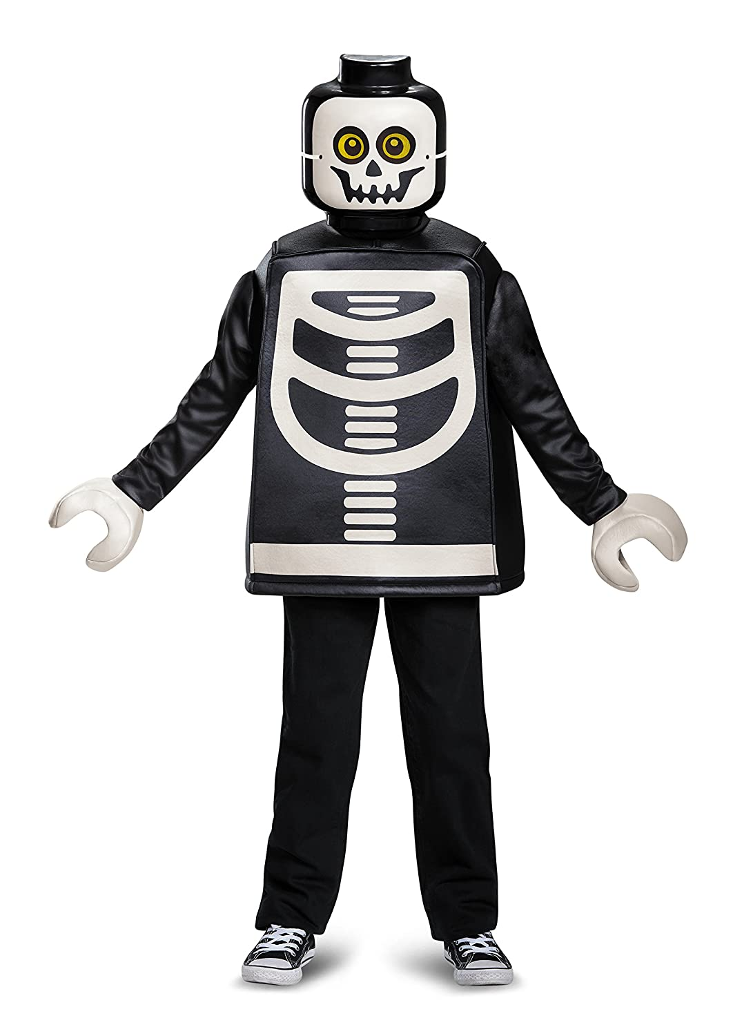 59f074675 Lego Skeleton Classic Costume (Small, 4-6 Years)