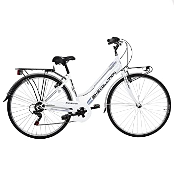 "BIKEVOLUTION City Bike 28"" 6 V Bike evolution Mujer ..."