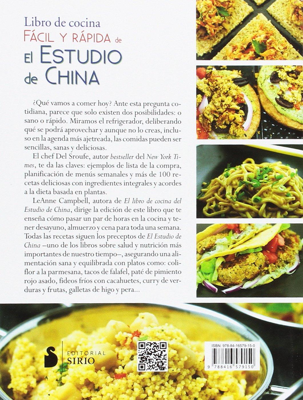 Libro De Cocina Facil Y Rapida De El Estudio De China Spanish