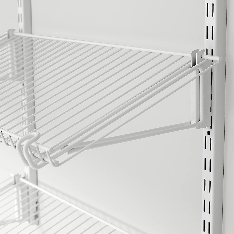 Rubbermaid Closet Configurations 12-Inch Bracket Shelf B.. New White 1807647