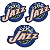3 Pieces NBA Team Logo Patches Sew On/Iron On Basketball Logo Emblem Sports Applique Accessories Decoration Patches for…